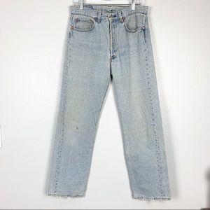 Levi's | 501 Vintage Button Fly Light Wash Jeans